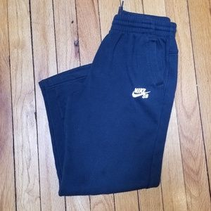 Nike SB forest green joggers sz med 10-12 4/$25